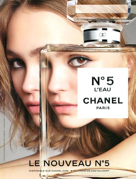 CHANEL Nº 5 L'Eau 2016 France 'Le nouveau Nº 5 - Disponible sur chanel.com - #YOU KNOW ME AND YOU DONT'