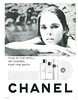 CHANEL Nº 5 Eau de Cologne - Oil for the Bath 1966 US 'This is the spell of Chanel for the bath'