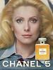 CHANEL Nº 5 Perfume 1975 US 'Catherine Deneuve for Chanel'