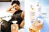 CHANEL Coco Mademoiselle  2002 Spain (recto-verso with scent sticker) 'Descubra la fragancia - La nueva fragancia de Chanel - Nueva línea para el baño y el cuerpo'