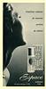 CHERAMY Espace 1965 France (format 17 x 30,5 cm) 'Fraîcheur radieuse du nouveau parfum de toilette'