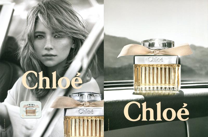 CHLOÉ Eau de Parfum 2017 Spain (recto-verso with scent sticker)
