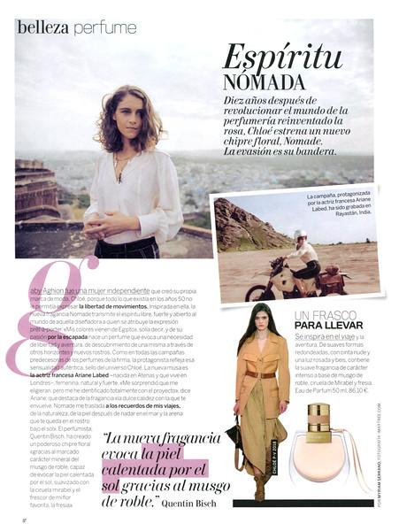 CHLOÉ Nomade 2018 Spain (advertorial Woman) 'Espírritu nómada'