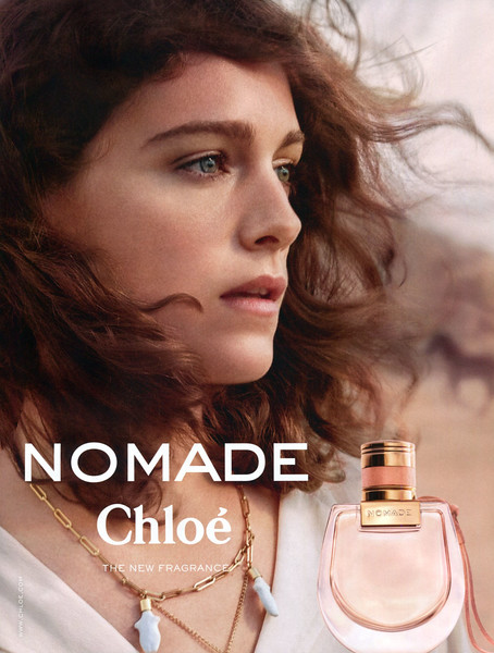 """CHLOÉ Nomade 2018 Spain 'The new fragrance'<br /> <br /> MODEL:  Ariane Labed, PHOTO: Ryan McGinley<br /> <br /> TV COMMERCIAL: <a href=""""https://www.youtube.com/watch?v=TXxbeE8QFz0"""">https://www.youtube.com/watch?v=TXxbeE8QFz0</a>"""