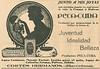 CORTÈS HERMANOS Peca-Cura Diverse 1923 Spain (small format) 'Junto a mis joyas más preciadas'