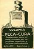 CORTÈS HERMANOS Peca-Cura Colonia 1926 Spain (small format) 'Insuperable para el baño y tocador por su perfume'