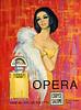 CORYSE SALOMÉ  Opéra 1970 France bis 'Parfum - Eau de Toilette - Pl. de l'Opéra Paris'