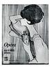 CORYSE SALOMÉ Opéra 1965 Spain 'Agua de Toilette - Perfumes'