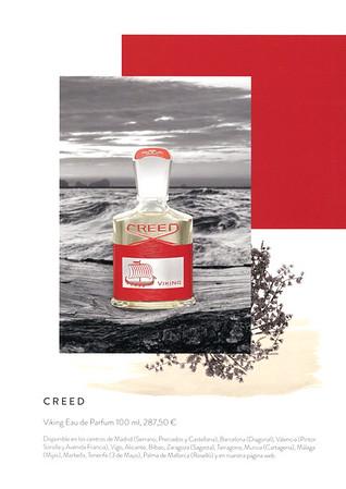 CREED Viking 2017 Spain (El Corte Inglés stores) format 14,5 x 20,5 cm