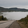 Clouds in the road (Québec)