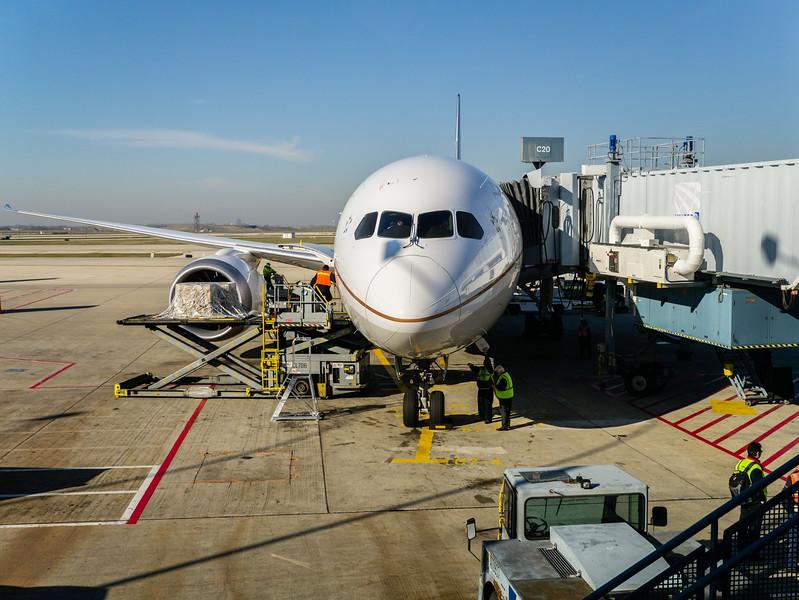 787 at ORD