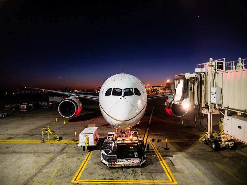 Dreamliner at IAH