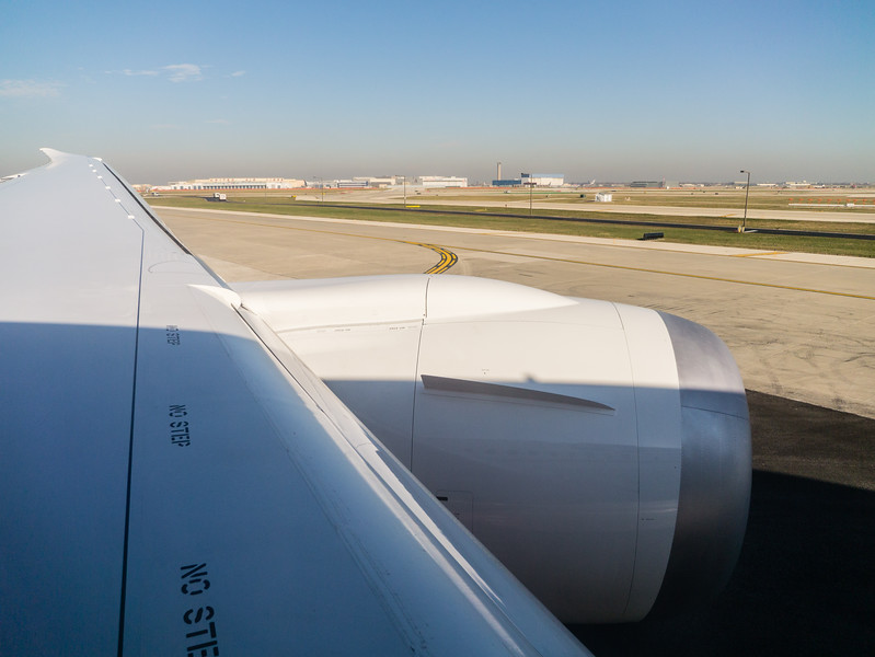 Wing while Taxiing