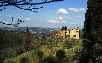 C110 - CHIANTI, ITALY - Charming Stone Property
