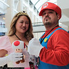 Princess Peach, Mario, and Toad