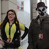 Silk Spectre and Rorschach