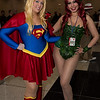 Supergirl and Poison Ivy