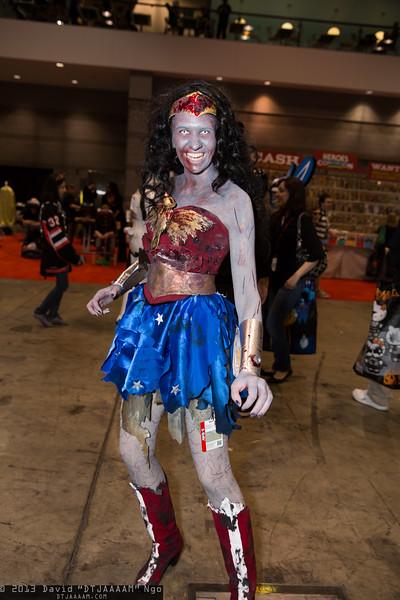 Zombie Wonder Woman