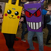 Pikachu and Gengar