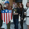 Peggy Carters, Captain America, Tony Stark, and Black Widow