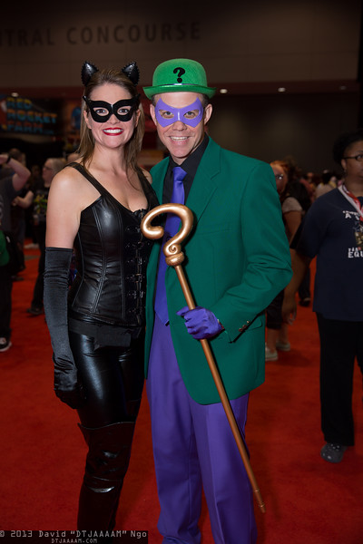 Catwoman and Riddler