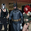 Bane, Batman, and Poison Ivy