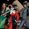 Poison Ivy, Harley Quinn, and Catwoman