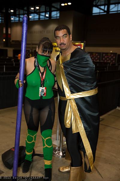 Jade and Black Adam