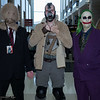 Scarecrow, Bane, and Joker