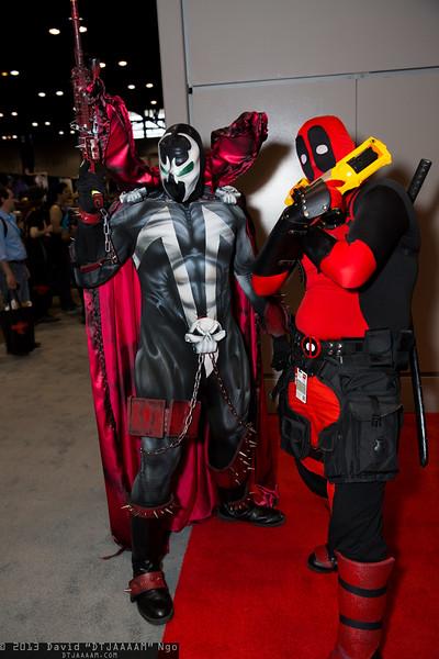 Spawn and Deadpool