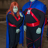 Miss Martian and Martian Manhunter