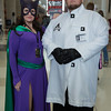 Catwoman and Professor Hugo Strange