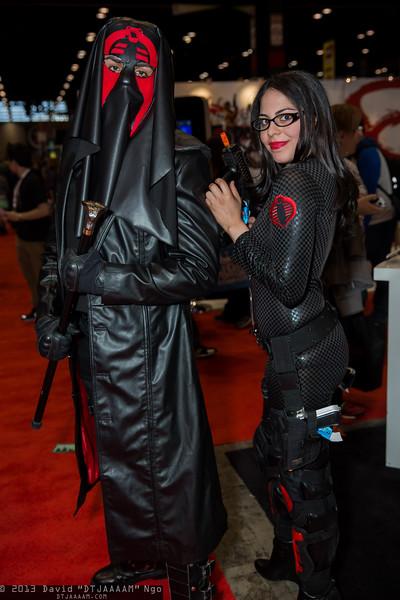 Cobra Commander and Baroness