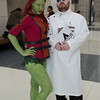 Poison Ivy and Professor Hugo Strange