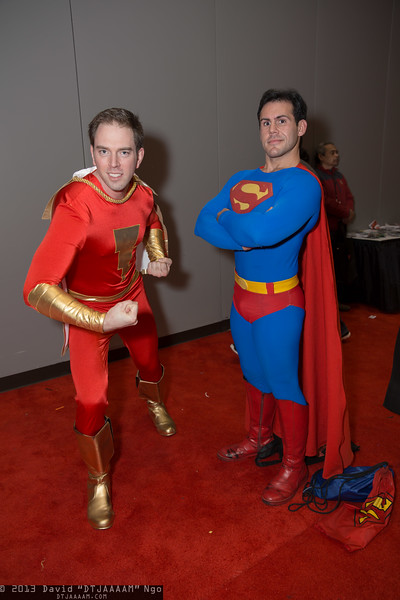 Captain Marvel and Superman