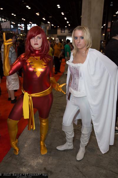 Dark Phoenix and Emma Frost