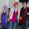 Lumpy Space Princess, Princess Bubblegum, and Marshall Lee