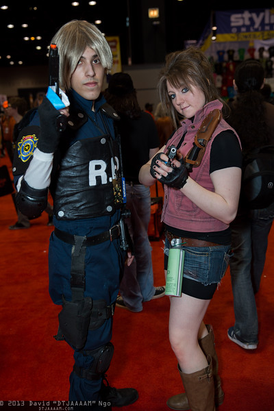 Leon Kennedy and Claire Redfield