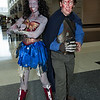 Zombie Wonder Woman and Ash Williams