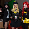 Zatanna, Lady Blackhawk, and Batgirl