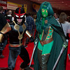 Nova and Gamora