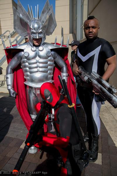 Stryfe, Deadpool, and Bishop
