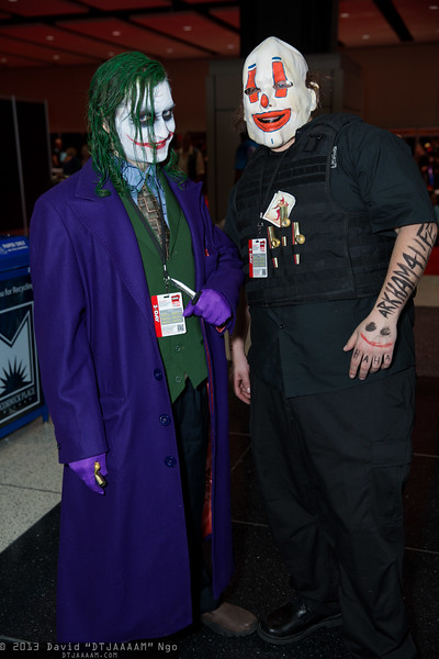 Joker and Bus Driver