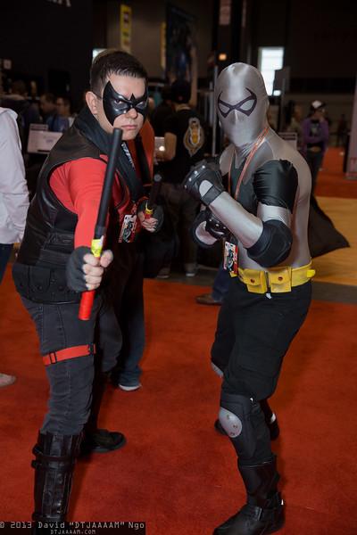 Nightwing and Nightrunner