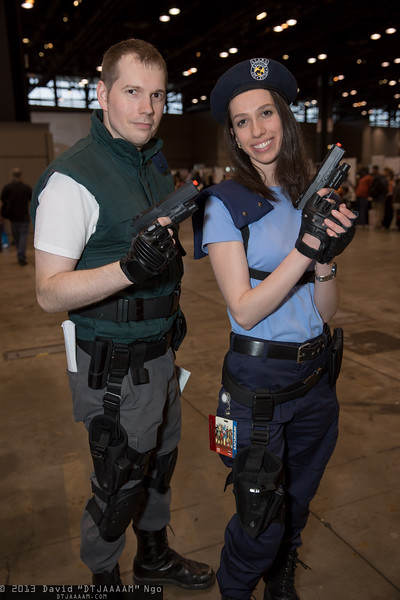 Chris Redfield and Jill Valentine