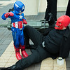 Captain America and Red Skull