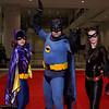 Batgirl, Batman, and Catwoman