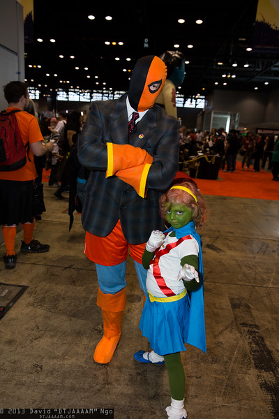 Deathstroke the Terminator and Miss Martian