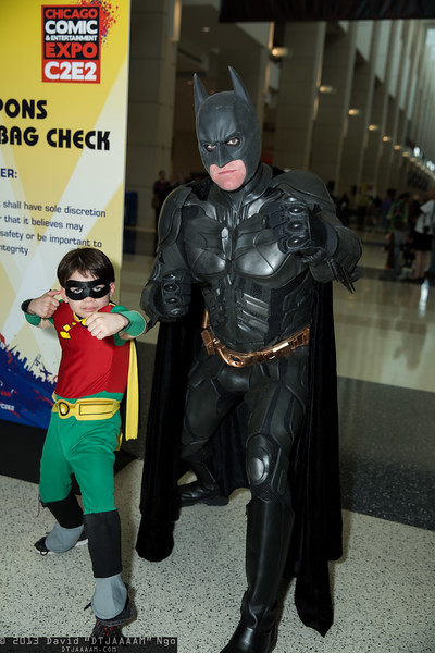 Robin and Batman