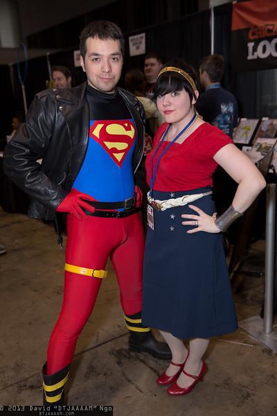 Superboy and Wonder Girl